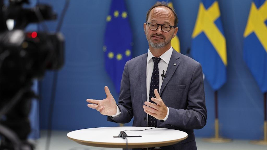Infrastrukturminister Tomas Eneroth