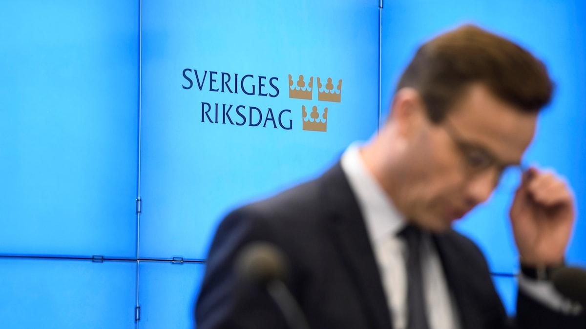 Ulf Kristersson: Ger upp försöket att bilda regering