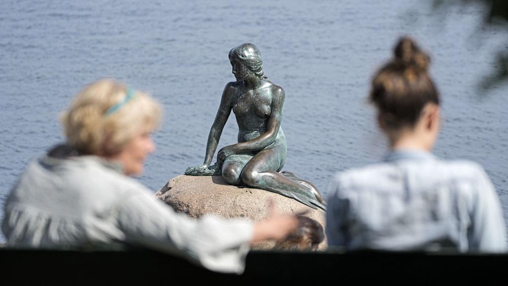 Köpenhamn lilla havsfru