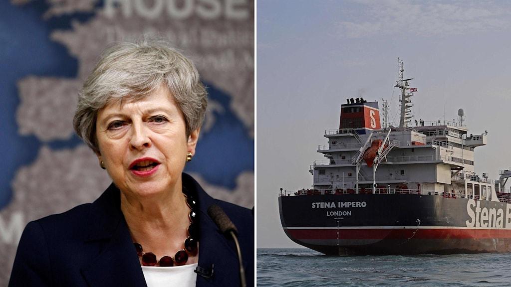 Theresa May har kallat till krismöte.