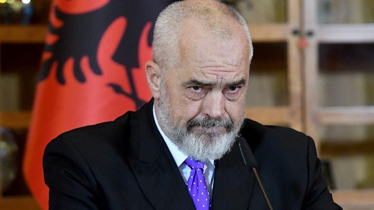 Albaniens premiärminister Edi Rama.