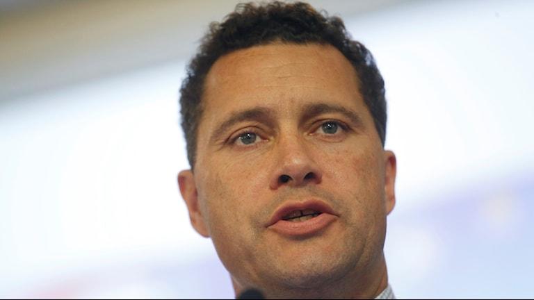 Steven Woolfe partiledarkandidat för brittiska Ukip