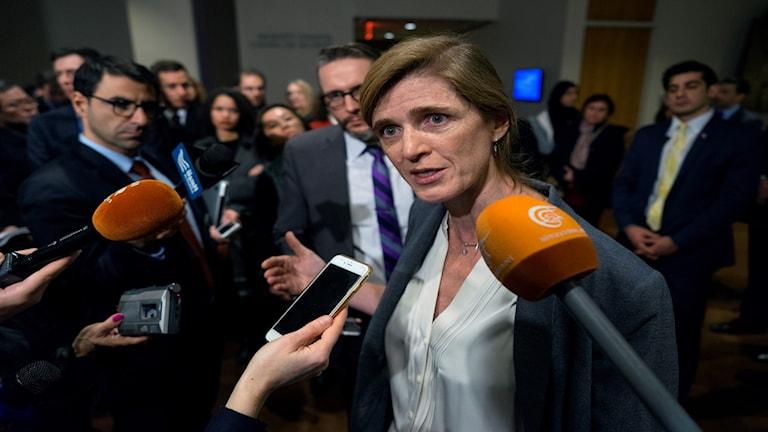 Samantha Power, USA:s FN-ambassadör