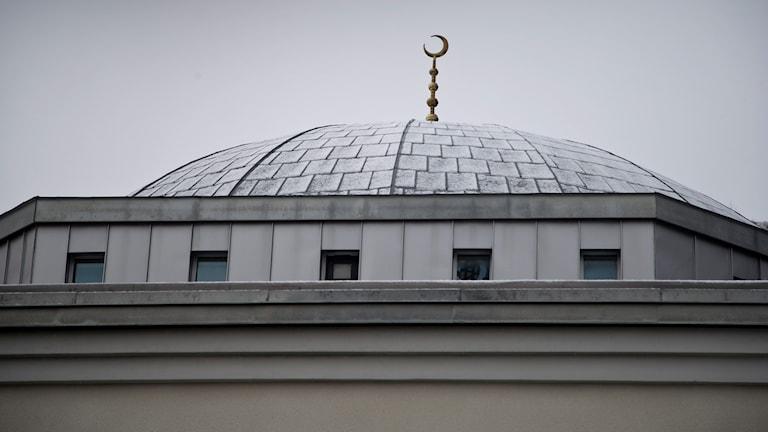Taket till Göteborgs moské