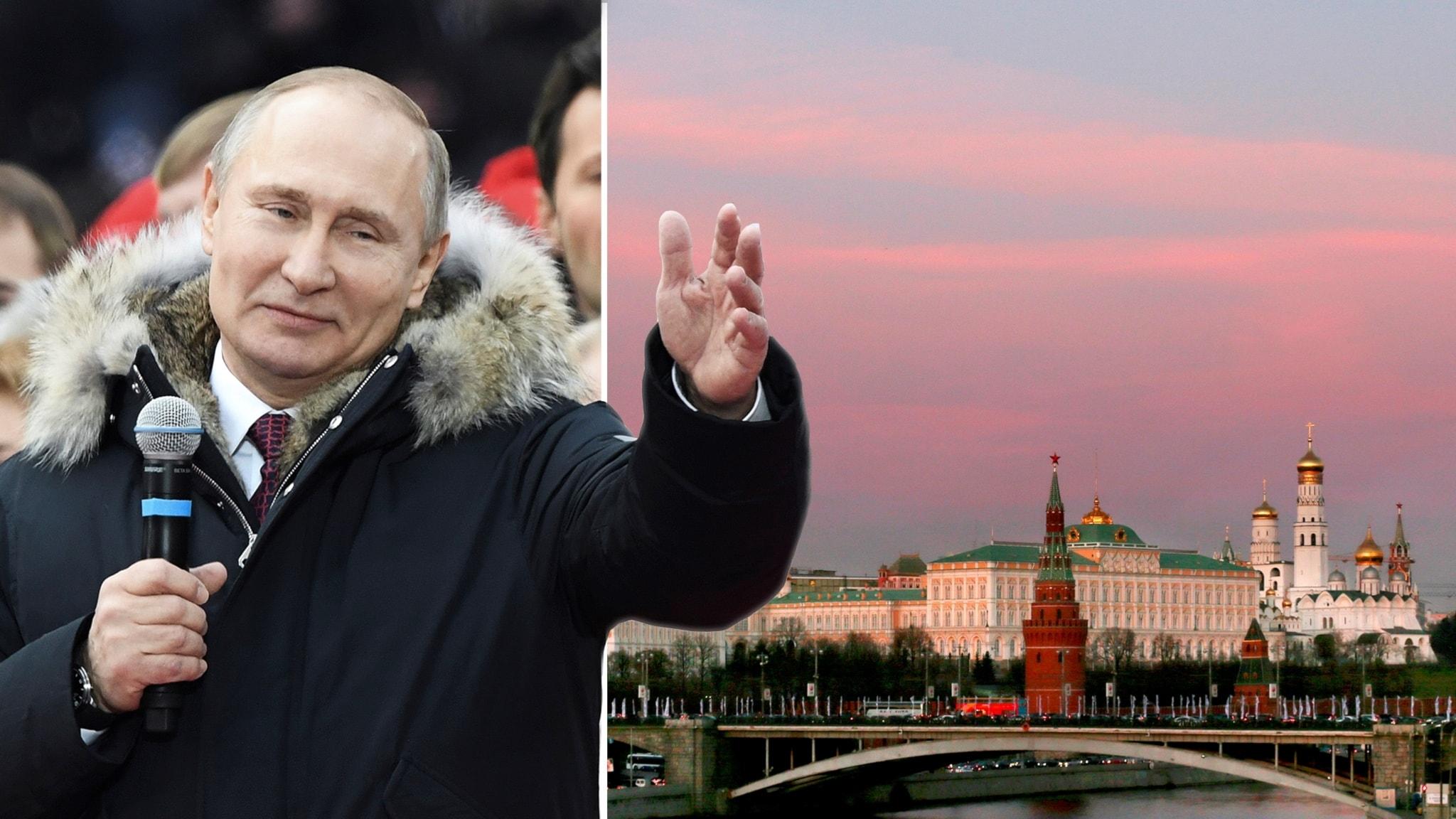 Putin mot säker valseger