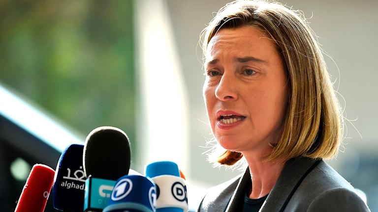 EU:s utrikeschef Federica Mogherini