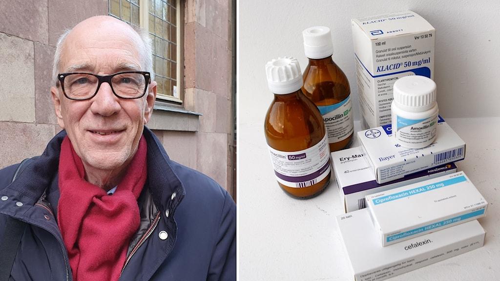 Otto Cars, som arbetar med att bromsa utvecklingen av antibiotikaresistens.