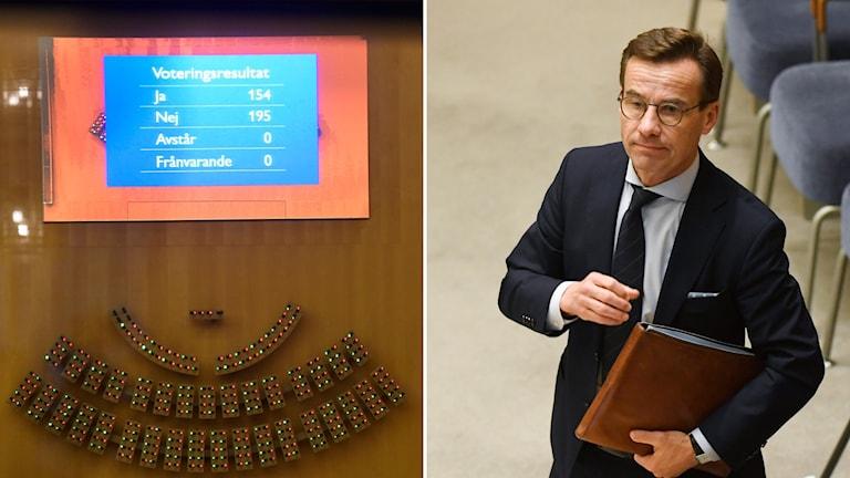 Ulf Kristersson statsministeromröstning