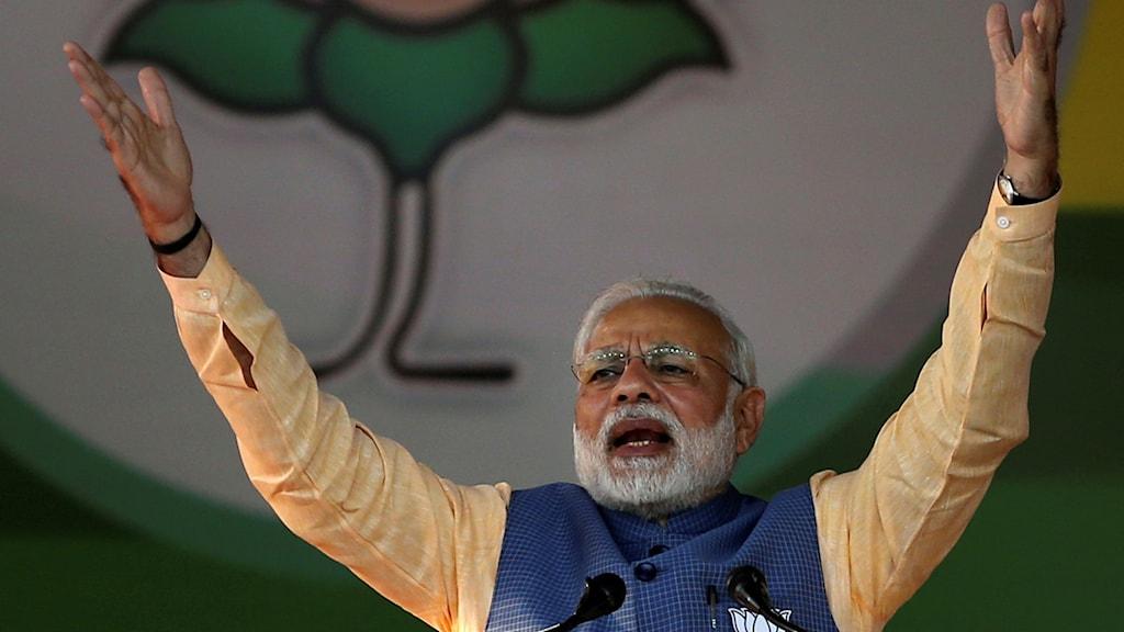 Indiens premiärminister Narendra Modi