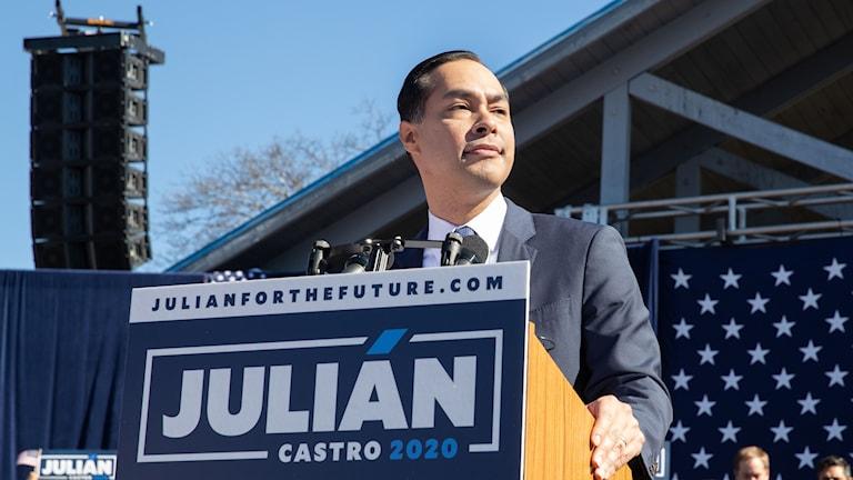 Julian Castro, demokrat.