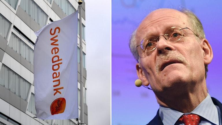 Riksbankschef Stefan Ingves anser att bankernas satsningar i Baltikum gick för fort.