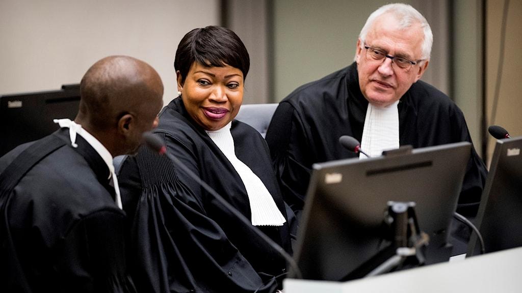 Åklagaren i internationella brottmålstdomstolen i Haag.