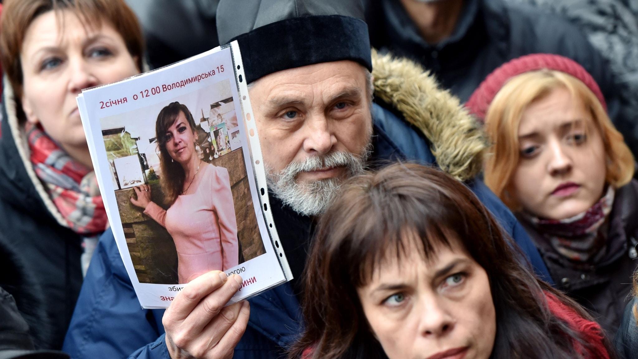 Vrede bland ukrainare efter spektakulärt mord