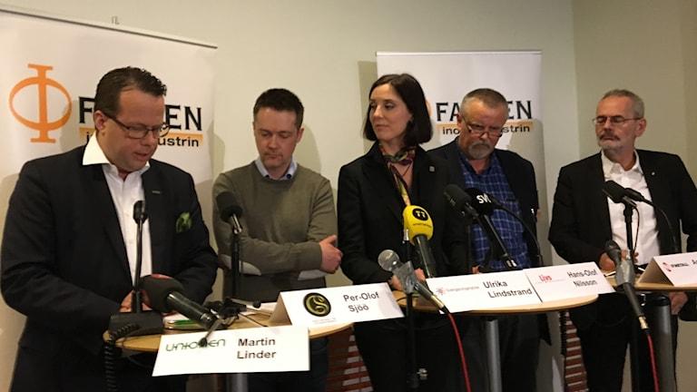 Industrimärket avtal. Ander Jelim/Sveriges Radio.