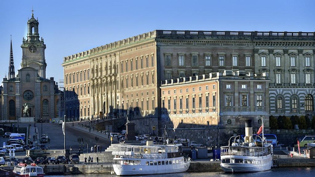 Kungliga slottet i Stockholm.