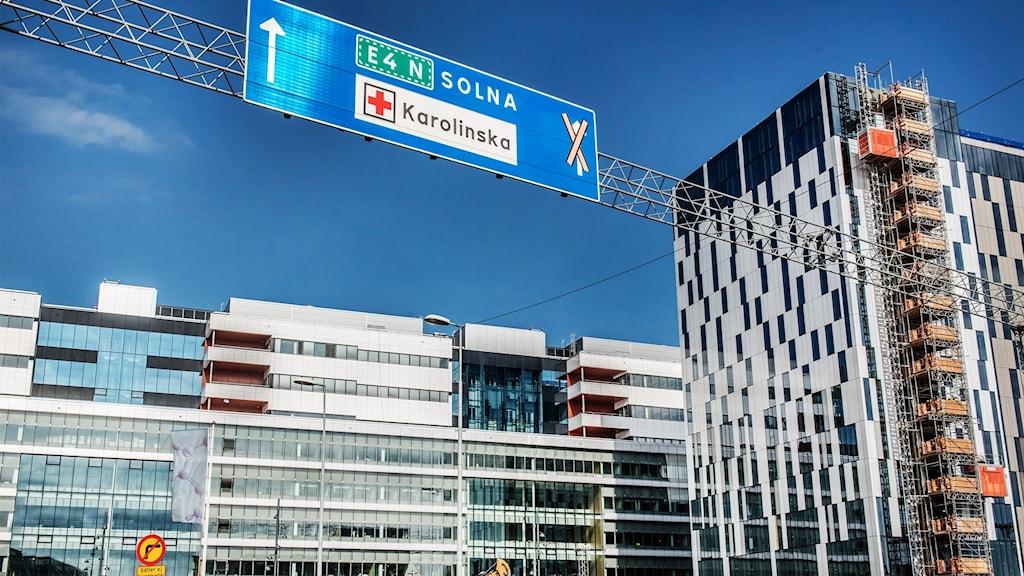 Nya Karolinska sjukhuset i Solna.
