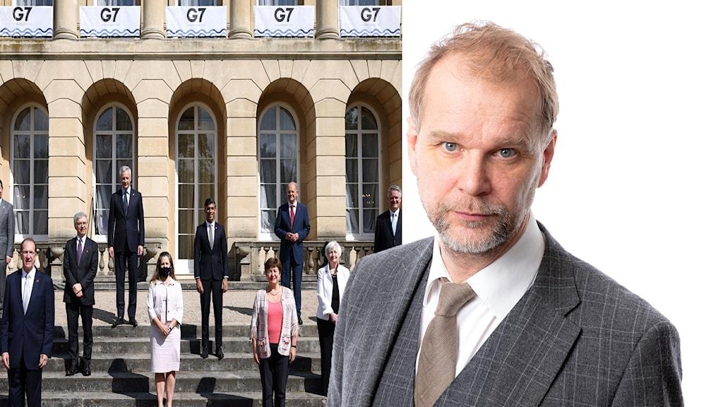 Kristian Åsberg om G7 mötet