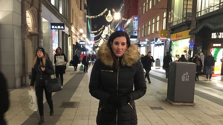 Therese Walther blev vittne till attacken