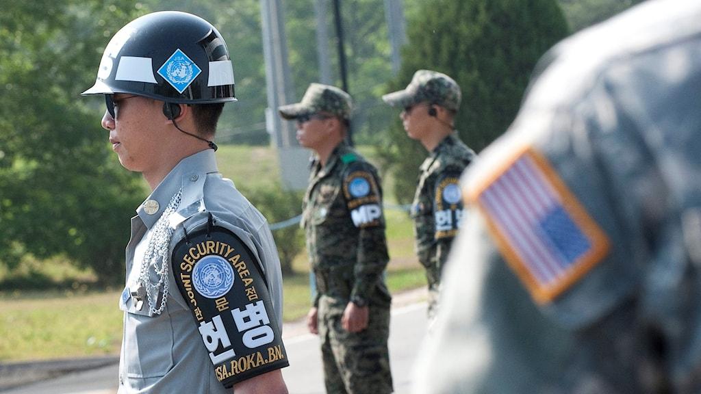 Kina protesterar mot amerikanskt robotförsvar i Sydkorea