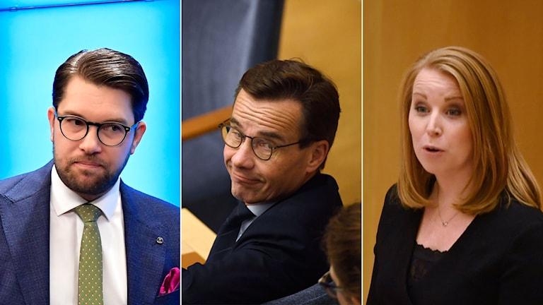 stasministeromröstning, åkesson, kristersson, lööf