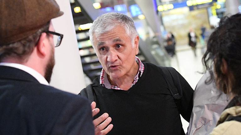 Svensk-turkiske journalisten Hamza Yalcin