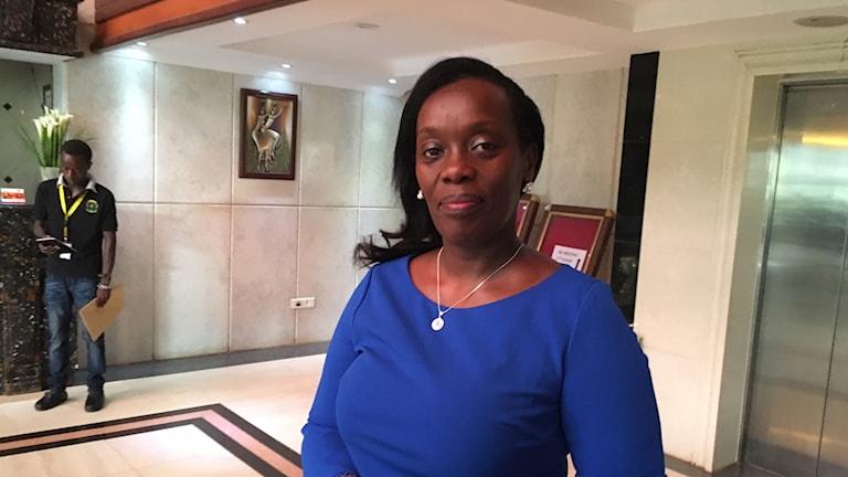 Diane Gashumba hälsominister i Rwanda