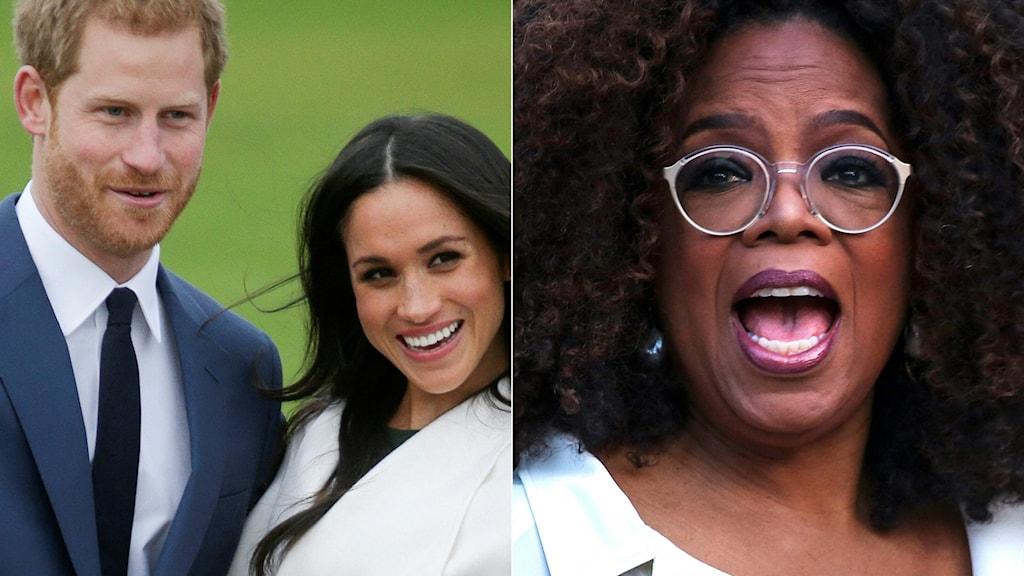 Oprah intervjuar Harry och Meghan