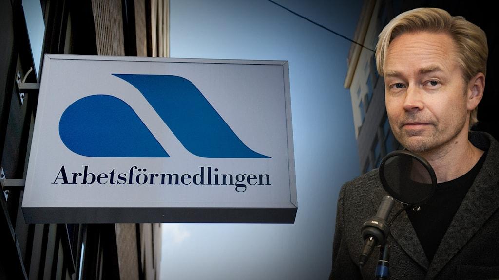 Fredrik Furtenbach, politisk kommentator på Ekot.