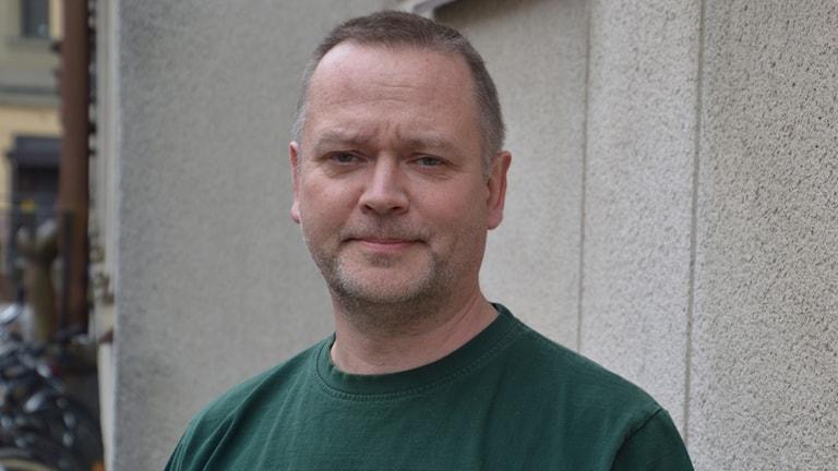Jerk Wiberg, gruppchef för gränspolisens inre utlänningskontroller i region Stockholm