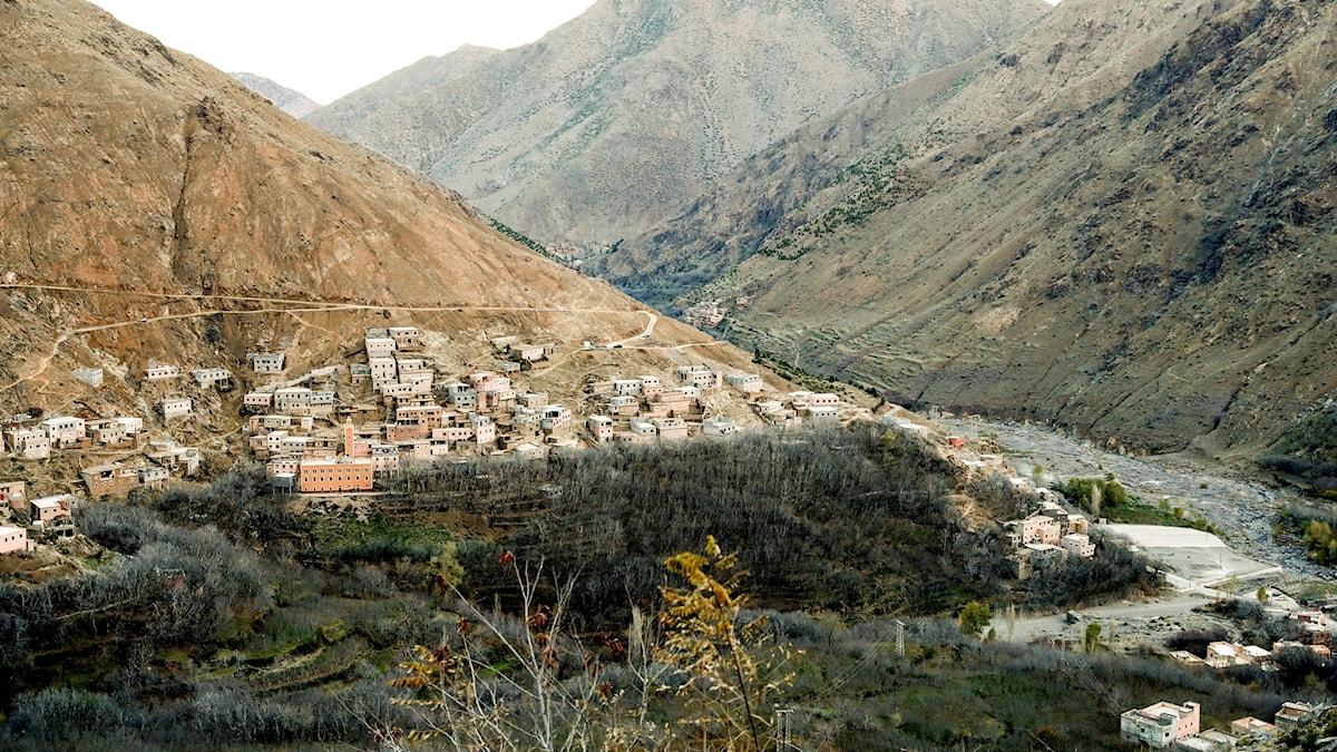 Kvinnorna hittades i bergen ungefär en mil från byn Imlil.