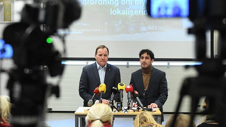 Löfven och Shekarabi presenterar myndighetsflytt