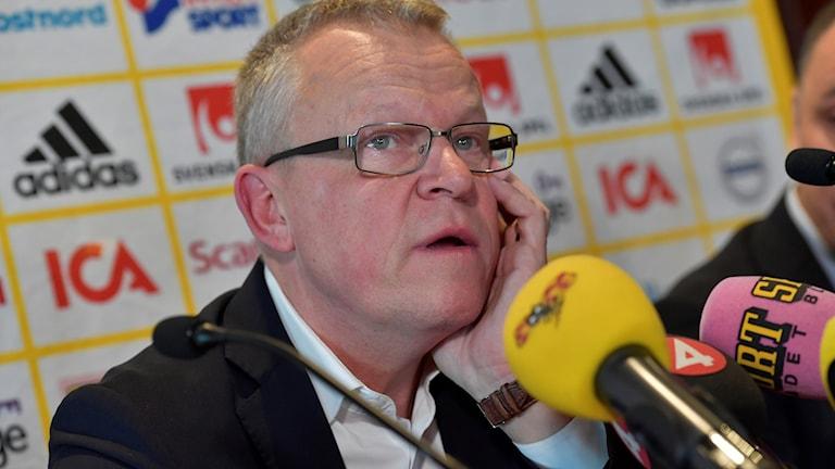 Fotbollsherrarnas förbundskapten Janne Andersson.