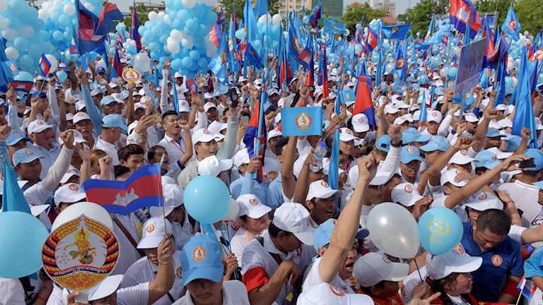 Val i Kambodja