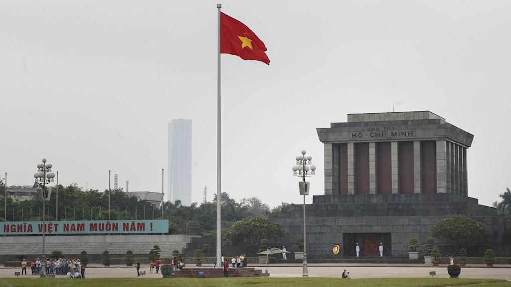 Bild från Hanoi i Vietnam