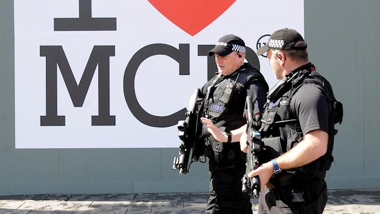 Poliser i Manchester
