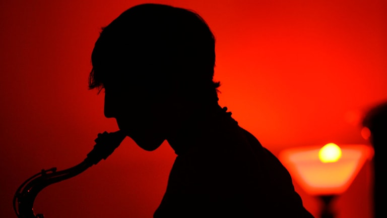 jazz, musiker, jazzmusiker, saxofon