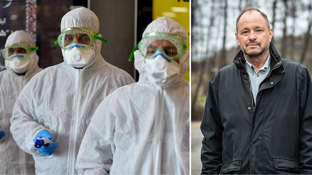 Coronasmittade kan bli stor belastning för svenska sjukhus