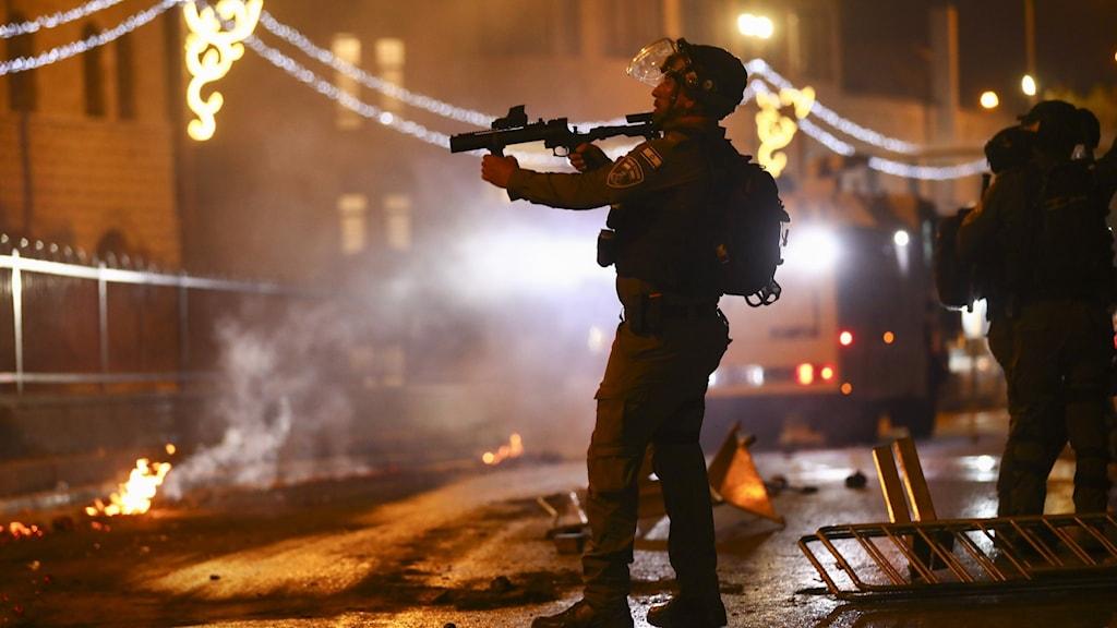 Internationell oro över utvecklingen i Jerusalem