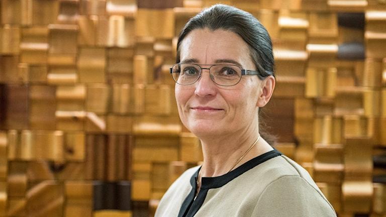 Carina Håkansson, vd för medlemsorgansiationen Skogsindustrierna.