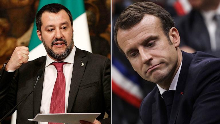 Frankrike ignorerar italienska provokationer