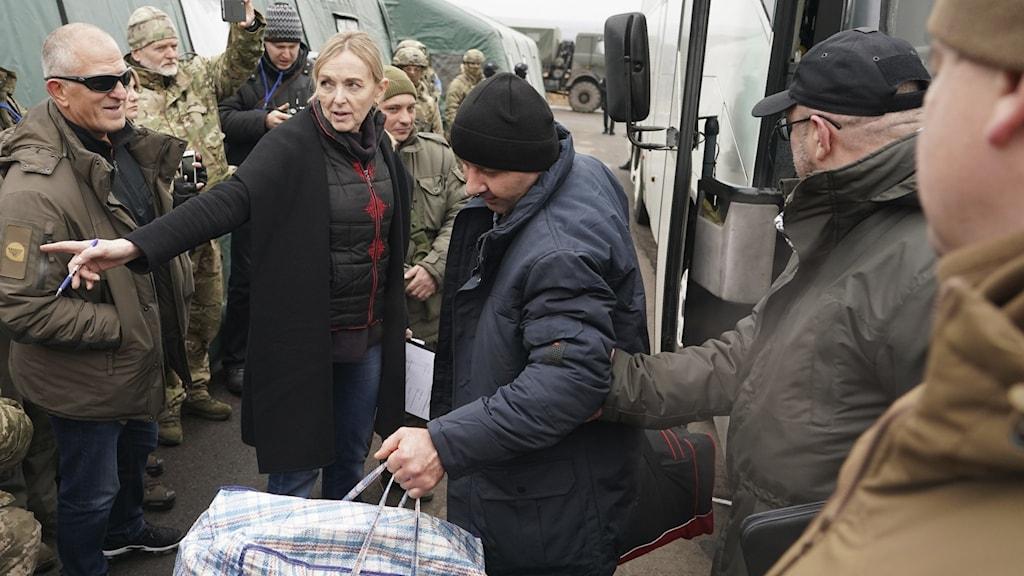 Fångutväxling i Ukraina