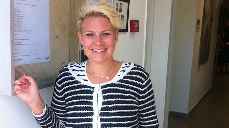 Anna Lundgren, pedagog Svenska kyrkan Gran Canaria. Foto: Maria Repitsch/Sveriges Radio