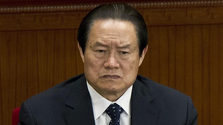 Zhou Yongkang. Foto: Andy Wong/TT.