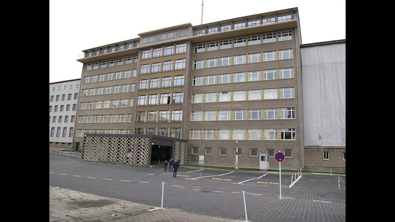 Stasis gamla högkvarter i östra Berlin. Idag museum och arkiv.