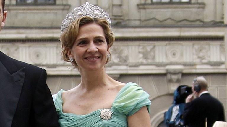 Prinsessan Cristina av Spanien. Foto: Lise Åserud/TT.