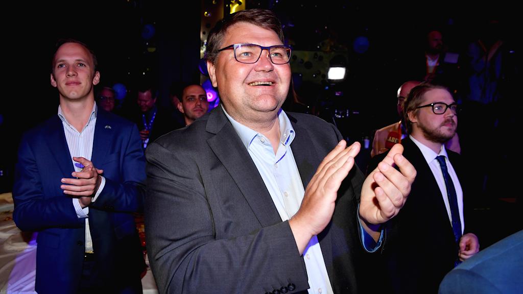 Toppkandidaten Peter Lundgren.
