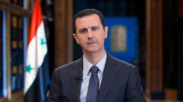 Syriens president Bashar al-Assad. Foto: TT.
