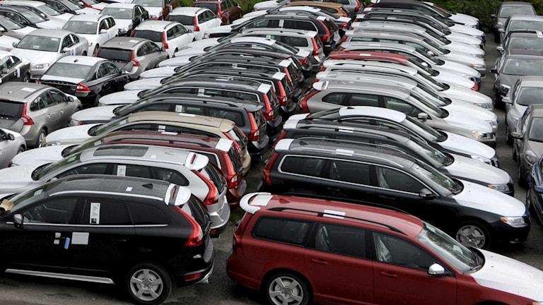 Bilförsäljning Foto: Janerik Henriksson /TT