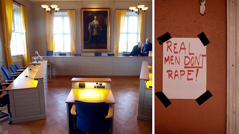 våldtäktsrättegång