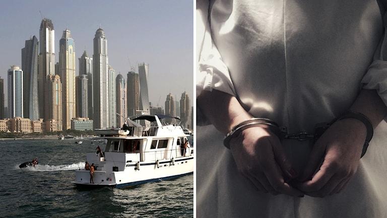 Dubai, gravid kvinna.